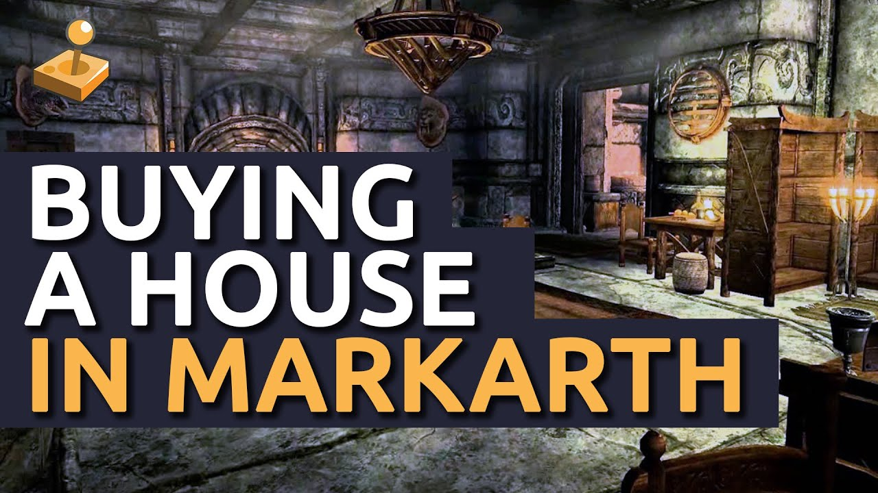 Skyrim Housebuying Guide  How To Buy A House In Markarth  Vlindrel Hall