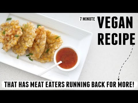 VEGAN RECIPE THAT MAKES MEAT EATERS RUN BACK FOR MORE!!!