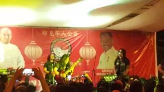 Eet Syahrani's perform . . \m/ . . Edane !