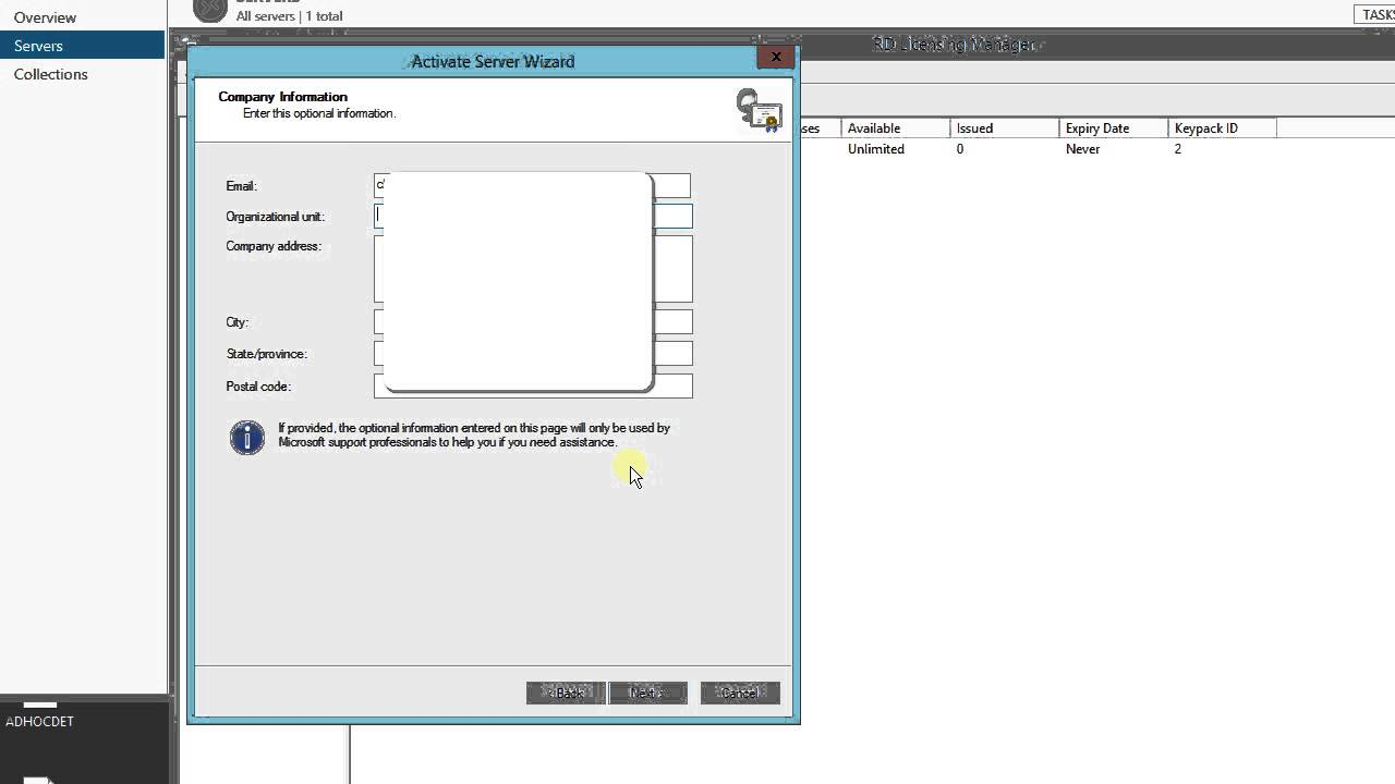 tsprint license file