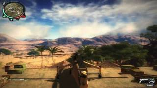 Just Cause 2 Demo Gameplay PC GTX260