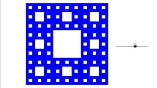 [ GeoGebra Dersleri Türkçe ] Sierpinski Halısı [ GeoGebra Tutorial ]