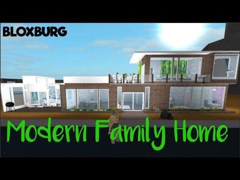 Bloxburg 30k Modern Family Home Youtube