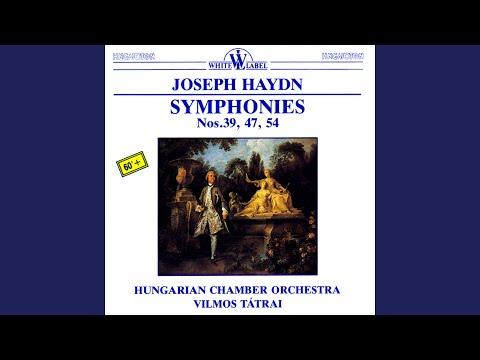 Symphony No. 47 in G Major: IV. Finale. Presto assai