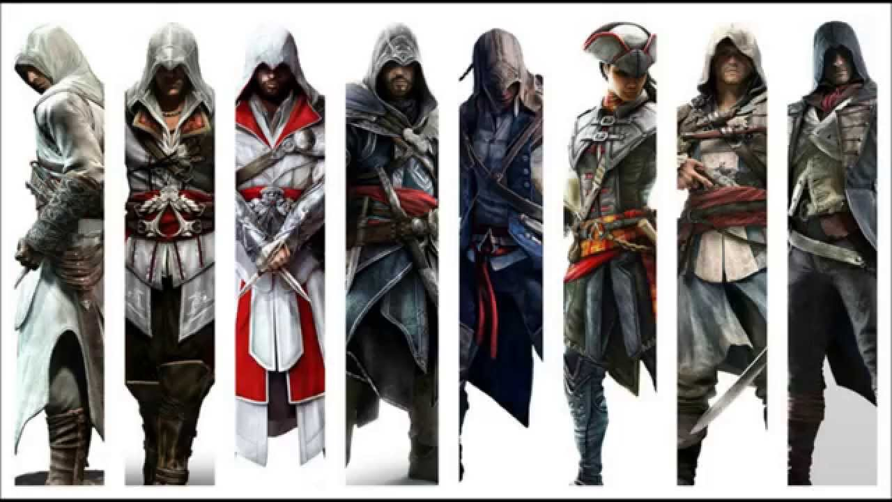 Assassin's Creed Timeline - YouTube