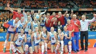 Волейбол. Россия - Нидерланды. Чемпионат Европы 2015. Женщины. Финал. 04.10.2015 г.(, 2016-08-06T12:18:56.000Z)
