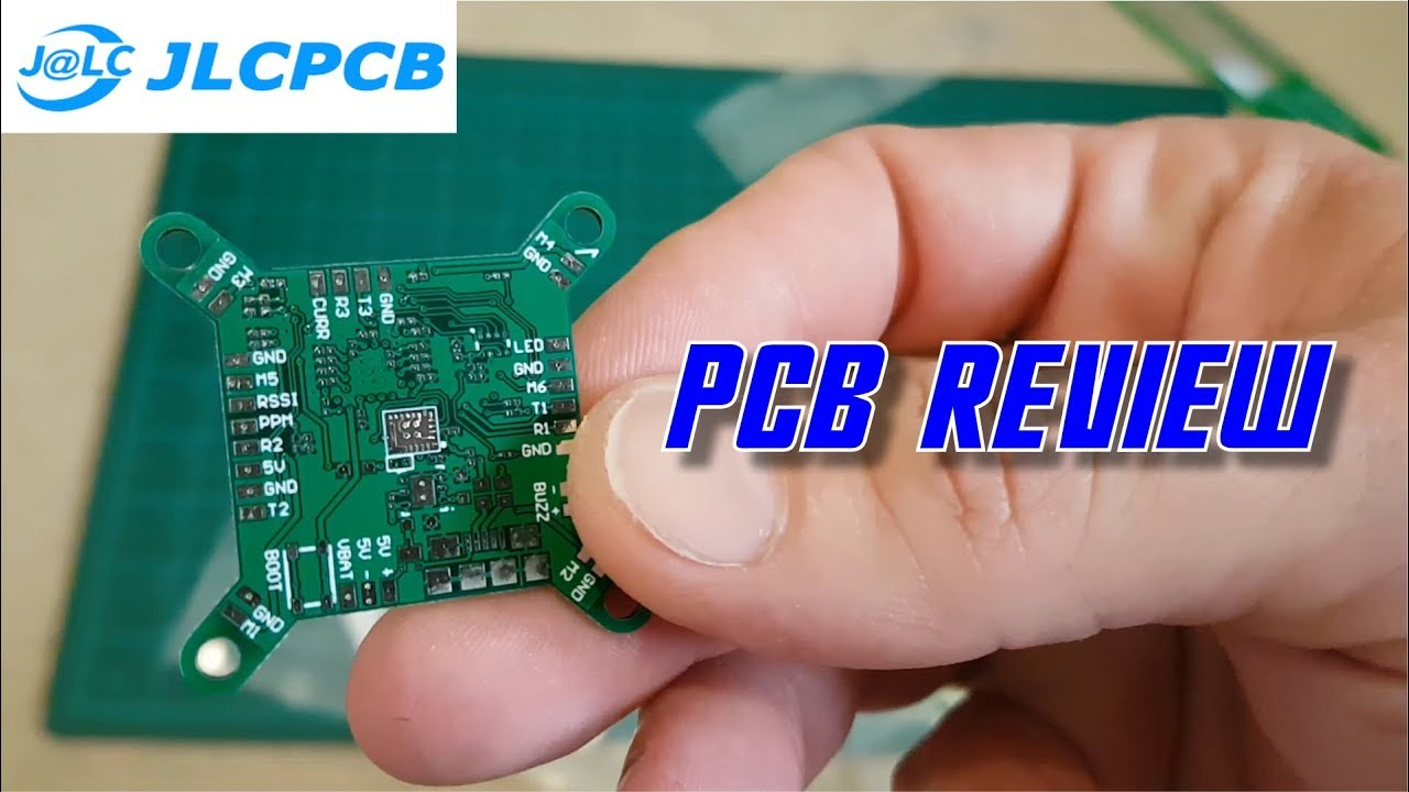 PCB from JLCPCB - High quality and cheap PCB boards review