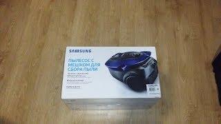 распаковка и обзор Пылесоса Samsung VC20M251AWB