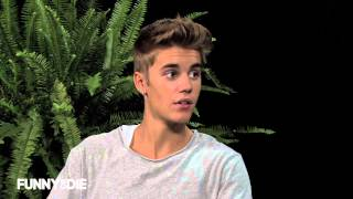 Repeat youtube video Justin Bieber: Between Two Ferns with Zach Galifianakis