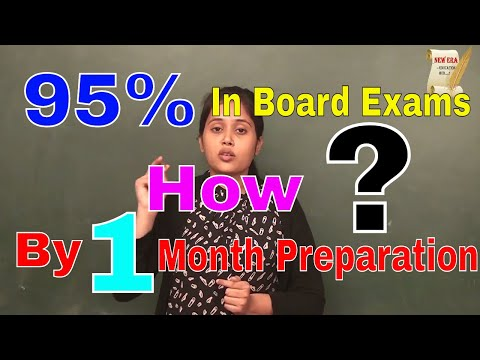 How i got 95% marks in 12th Board Exams with just 1 Month of Preparation - Saumya Soni (IIT BHU)