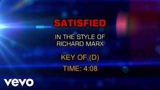 Richard Marx - Satisfied (Karaoke)