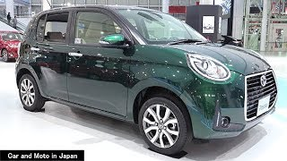 "Toyota Passo MODA ""G package"" : Dark Green  / Black"
