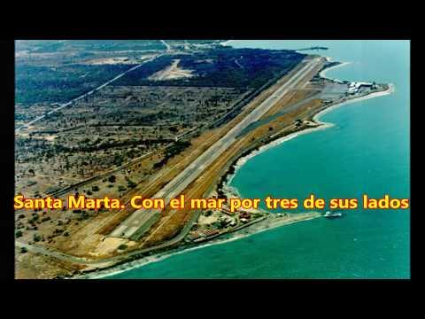 El aeropuerto más extremo de Colombia.The most extreme airport in Colombia