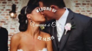 Vanessa and Chris's Wedding | Casa Feliz | Winter Park, FL