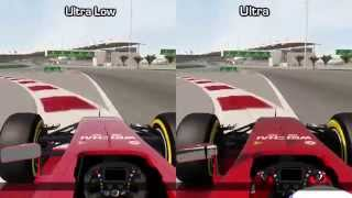 F1 2014 - Ultra Low vs Ultra - Graphics Comparison