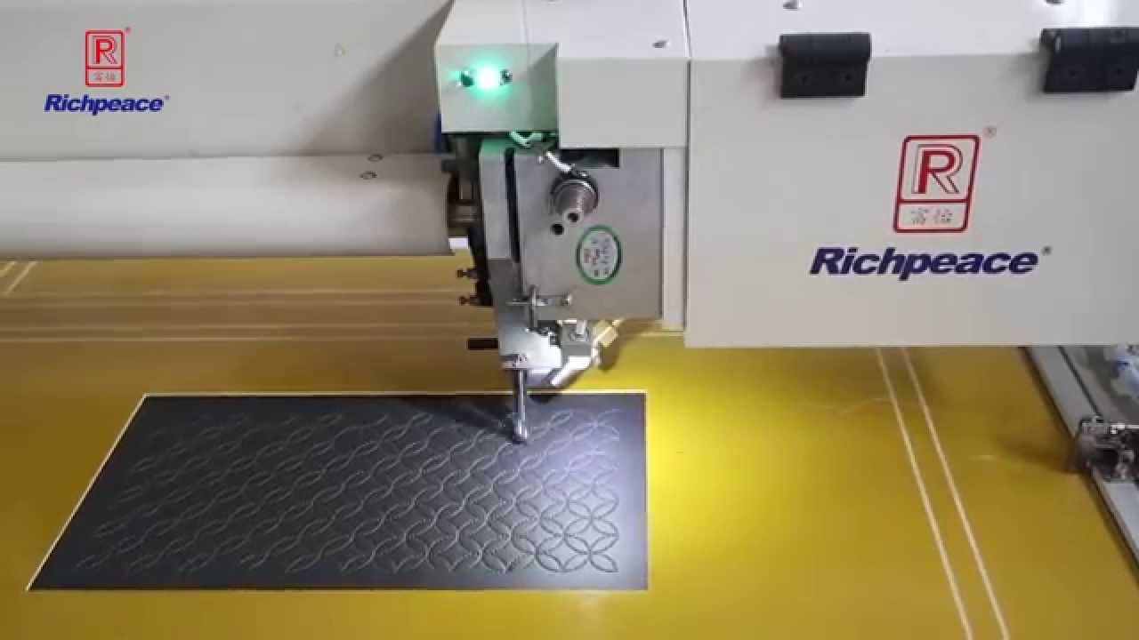 Richpeace 4g Auto Sewing Machine For Aerospace Interior First Class Youtube
