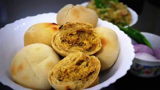 How to make Litti in Microwave | Litti Recipe in Microwave Oven