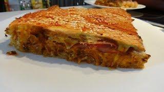 ΖΑΜΠΟΝΟΤΥΡΟΠΙΤΑ - Συνταγή απλή & εύκολη