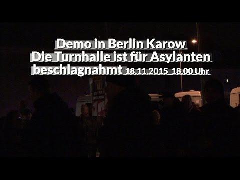 Demo in Karow am 18.11.2015