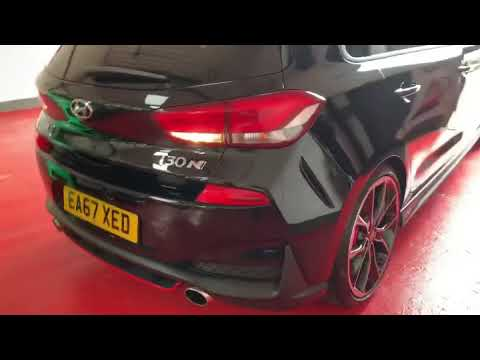 hyundai i30n performance exhaust sound youtube