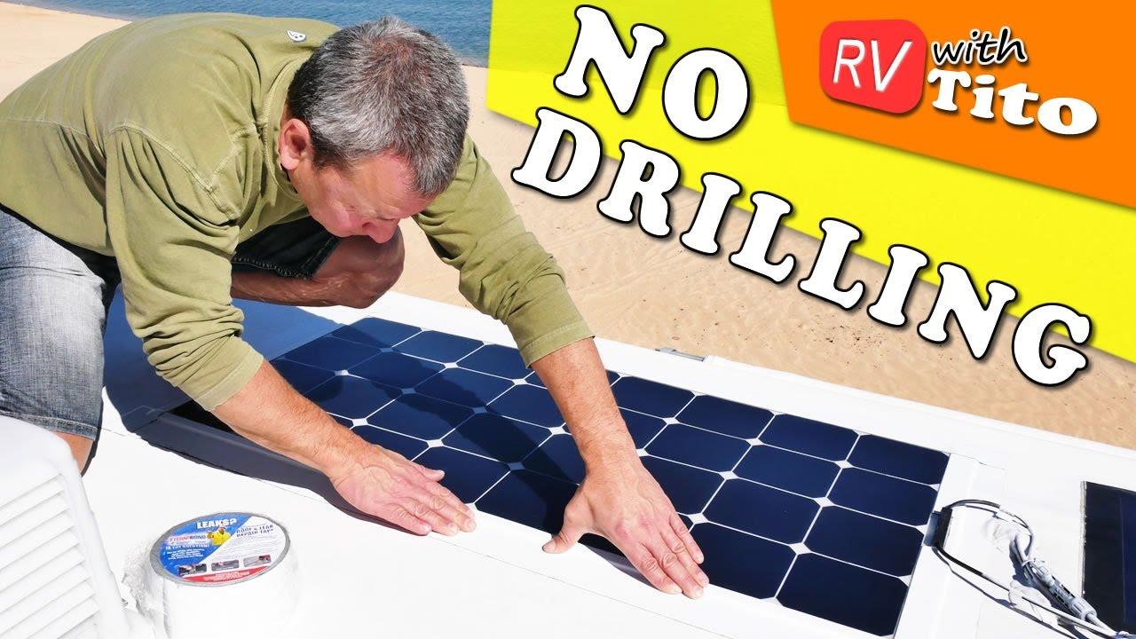Best Solar Panels For RV Or Camper Van | Comparison and