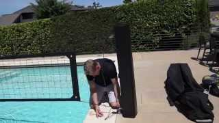 United Pool Volleyball Net System Set Up