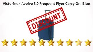 Victorinox Avolve 3.0 Frequent Flyer Carry On, Blue  | Review and Discount