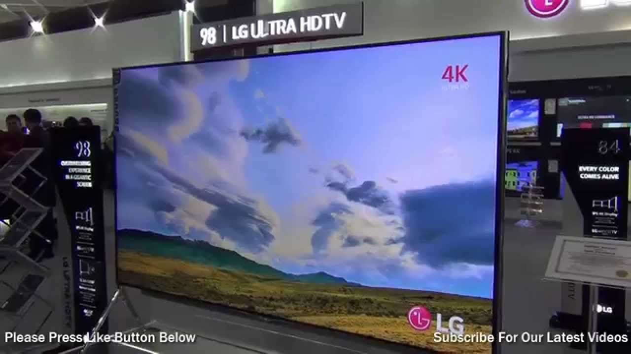 lg 98 inch ultra hd 4k tv preview youtube. Black Bedroom Furniture Sets. Home Design Ideas