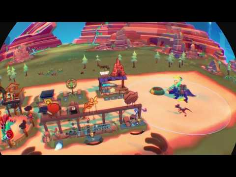 Dino Frontier Gameplay (Uber Entertainment) - PSVR