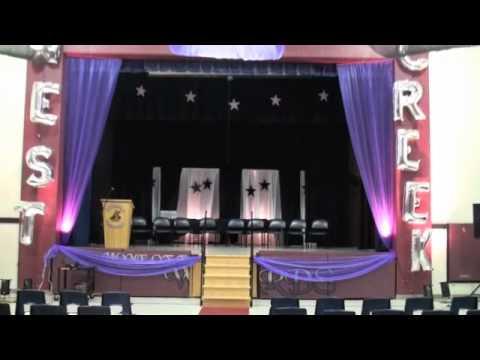 Graduation Stage Decoration Ideas