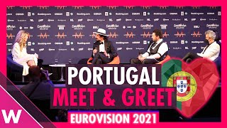 "Portugal Press Conference: The Black Mamba ""Love Is On My Side"" @ Eurovision 2021"