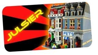Pet Shop Lego 10218 Hd Speedbuilding Stopmotion Timelapse Julsier