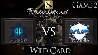 Dota 2 The International 2015 Team Archon vs MVP