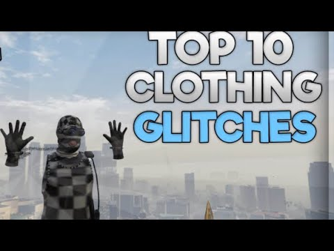 GTA 5 Top 10 Clothing Glitch's MODDED TRON And Invisible Outfit Glitch 1.42 (Best Clothing Glitches)