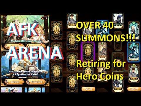 afk arena hero coins