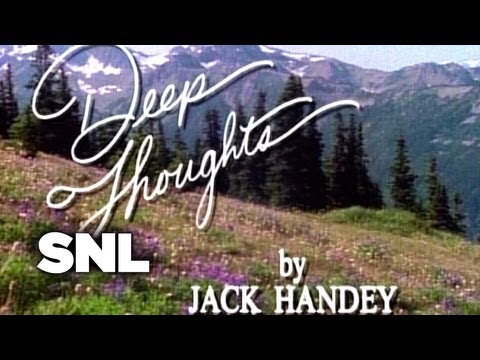 Deep Thoughts: Child's Face - Saturday Night Live