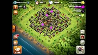 Clash of clans BEST NEW TROOP COMBO 2016 / HOW TO 3 star MAX TH11s attack strategy AUGUST