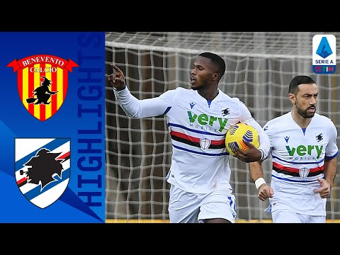 Benevento 1-1 Sampdoria   Keita risponde a Caprari   Serie A TIM