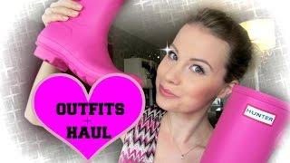 HAUL + OUTFITS | HUNTER-stövlar, Belle Shoes & Nelly.com