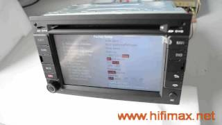 How to change the car logo for S60 car dvd gps?