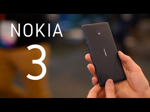 Nokia 3, primeras impresiones en español