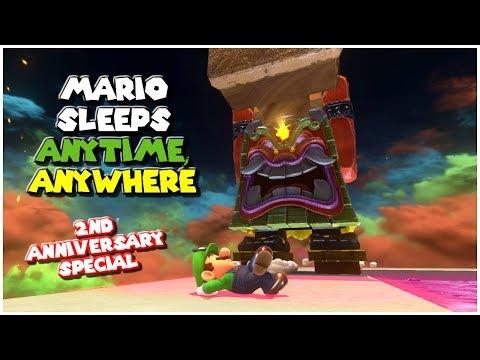 20 Comfy Sleeping Spots - Part 3 | Super Mario Odyssey