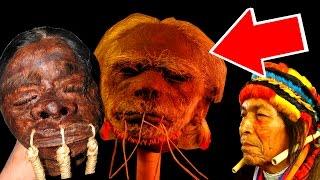Сушеные головы. Как индейцы Хиваро в Америке сушили головы врагов (Тсантса)