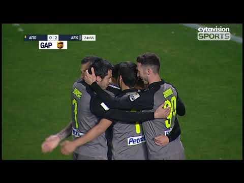Βίντεο αγώνα: ΑΠΟΕΛ 2-2 ΑΕΚ #21η