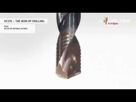 Walter Titex Holemaking DC170: Drilling in a new dimension – visibly different measurably stronger.