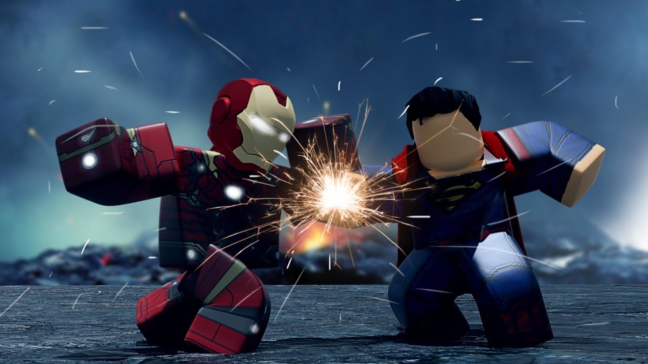 NEW BEST Marvel/DC Game On Roblox (The Supers!)