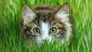 Как нарисовать кошку. Как рисовать кота.(Как рисовать кота.