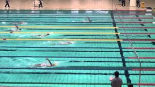2014愛知県中学校水泳競技大会男子400mメドレーリレー予選2組