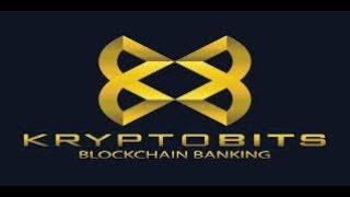 Kryptobits - ICO BLOCKCHAIN BANKING, банк без банка.