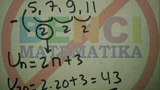 Cara cepat Belajar pola bilangan aritmatika part1 -Gulam halim